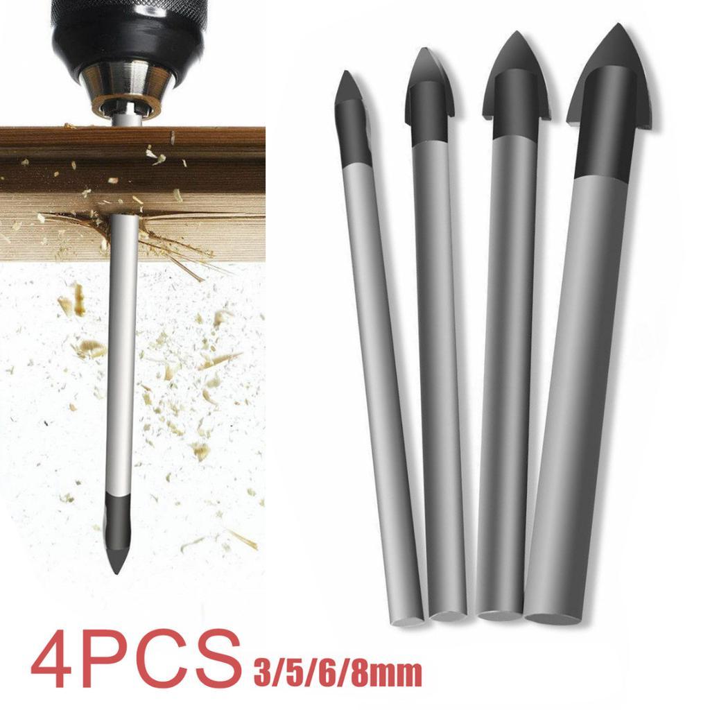 Porcelain Spear Head Tile Glass Ceramic Marble Drill Bit 3//4//5//6//8mm New