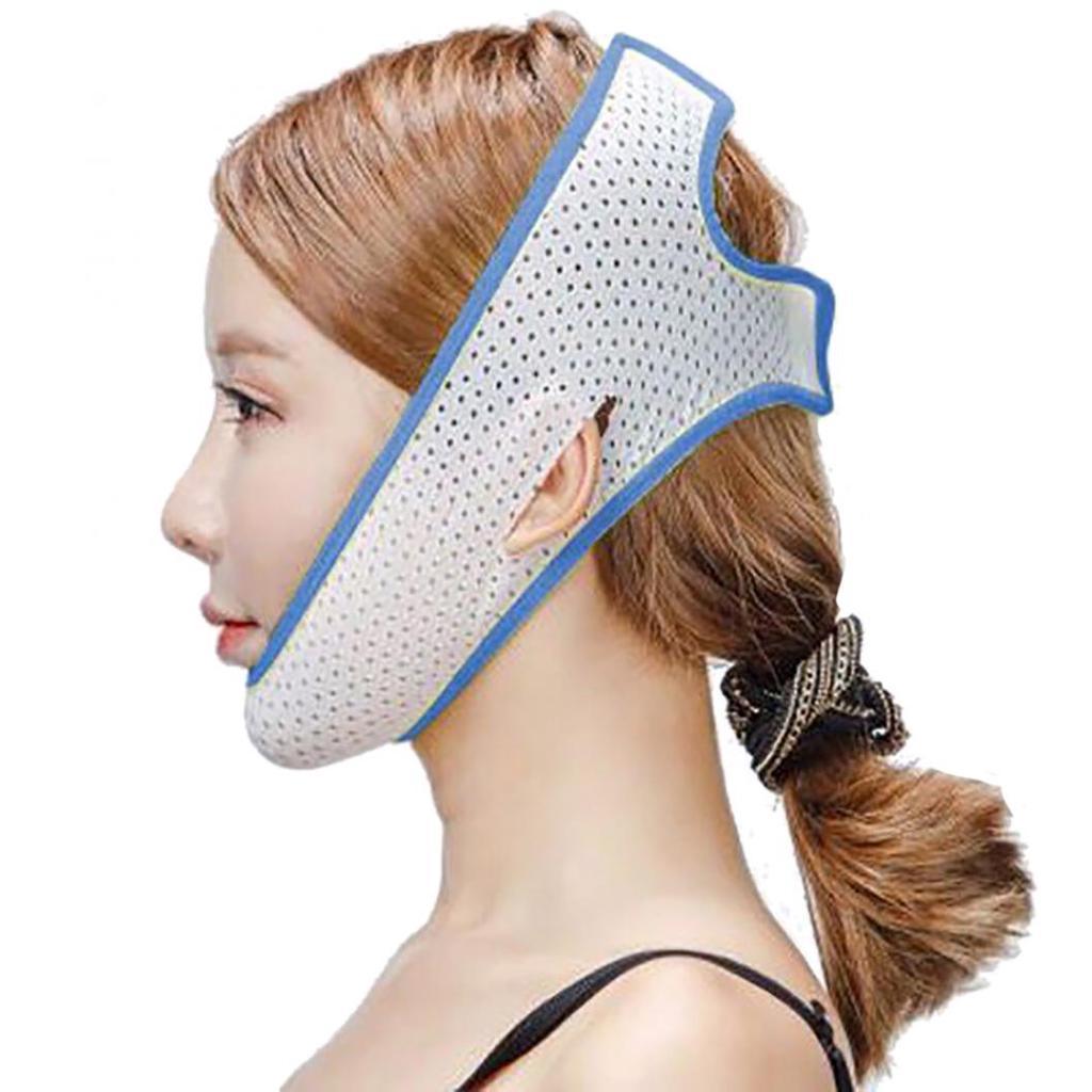 Fata de ridicare cureaua de slăbire Masca Curea Forma V Linie Chin pentru femei Lycra durabil