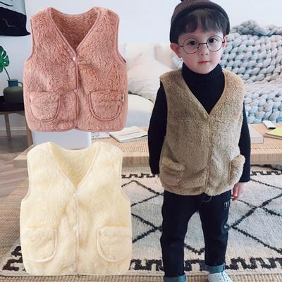 FEITONG Baby Boys Girls Cartoon Hooded Jackets Warm Veat Waistcoat Coat Vest