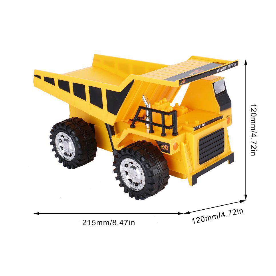 Kind Weihnachtsgeschenk 1//40 Mini Raupenfertiger Auto Lkw Fahrzeug Modell