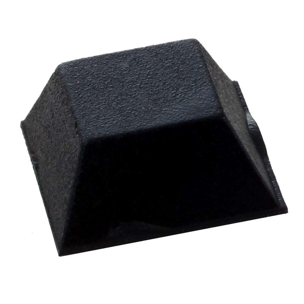 Chair Furniture Square 12mmx12mmx6mm Self Adhesive Rubber Pads TS