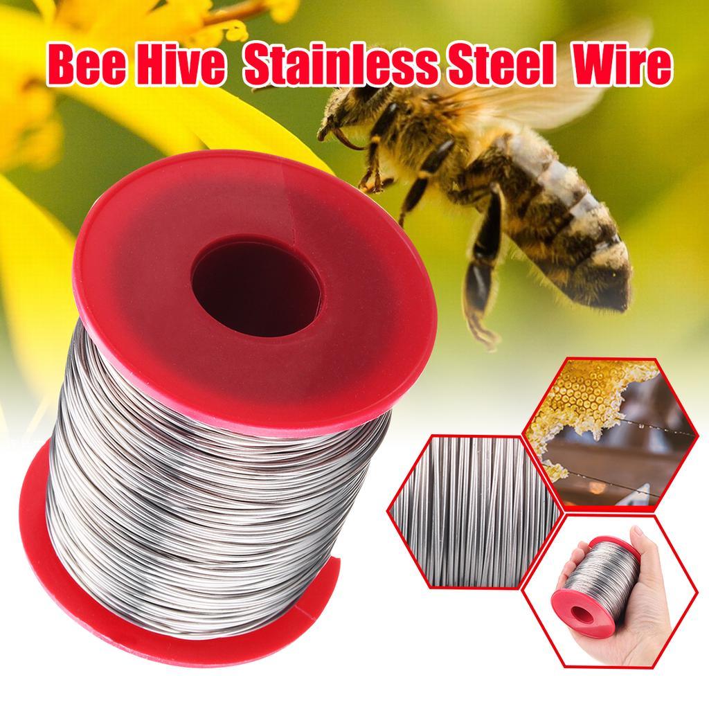 500g 0,5mm Edelstahl Bienenstock Bienenstock Rahmen Foundation Wire