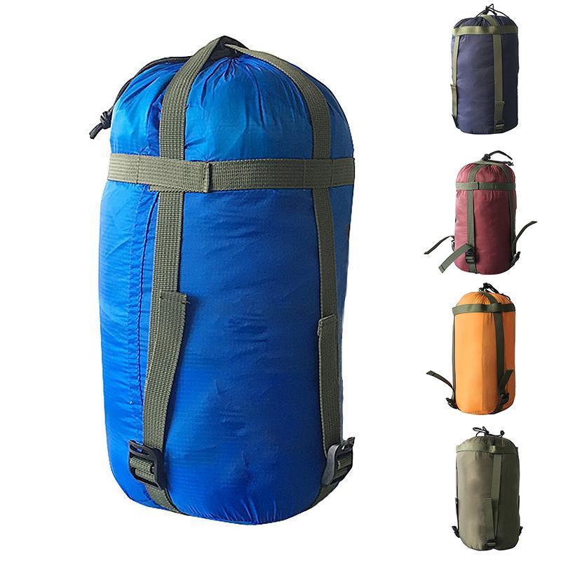 Водонепроницаемый компрессионный мешок для хранения вещей на открытом воздухе кемпинг спальный мешок – купить по низким ценам в интернет-магазине Joom
