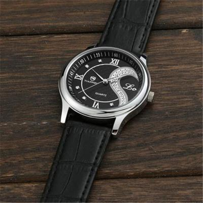 1 Pair Couples Wrist Watch Ultra-thin Leather Romantic Fashion lover watches