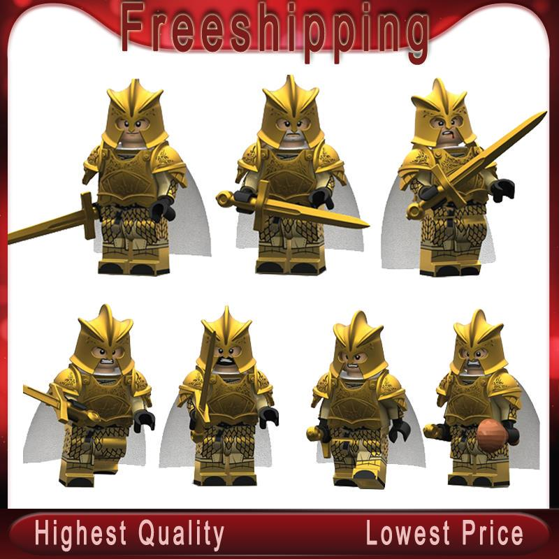 14 PCS Game of Thrones Ice and Fire Lannister Figure Limited Edition Blocks Toy
