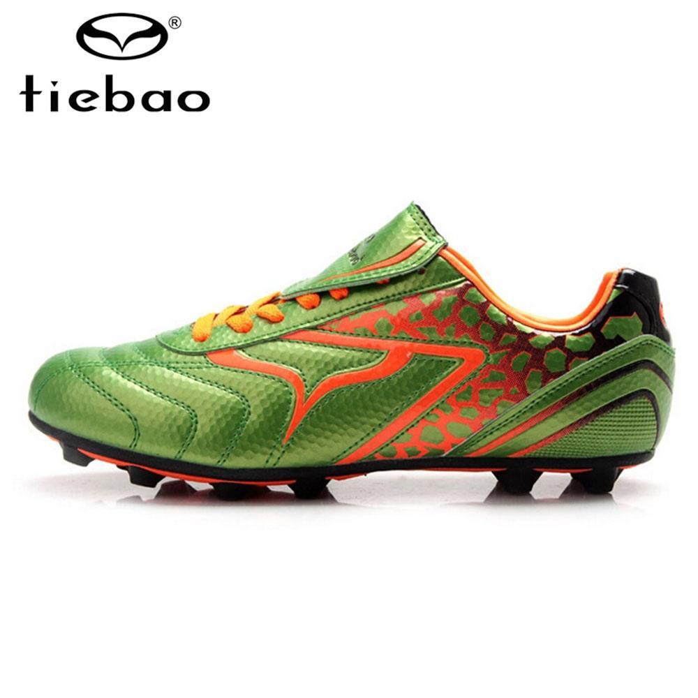 Botas de Futbol alta al aire libre de Tiebao profesional fútbol zapatos  hombres niño entrenamiento futbol adolescentes - comprar a precios bajos en  la ... 2488932680179