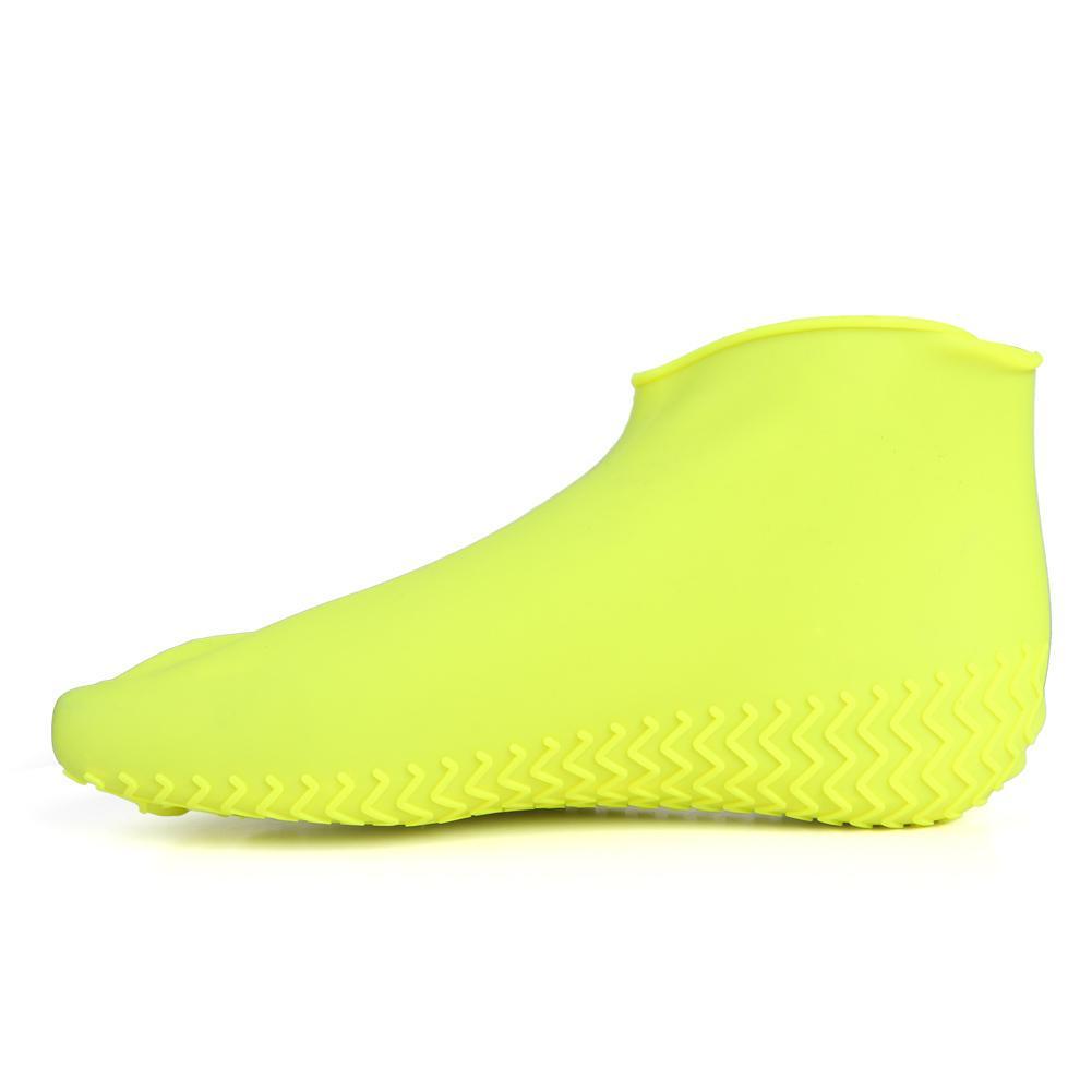 Capa Para Tenis Impermeavel Silicone Amarelo Chuva