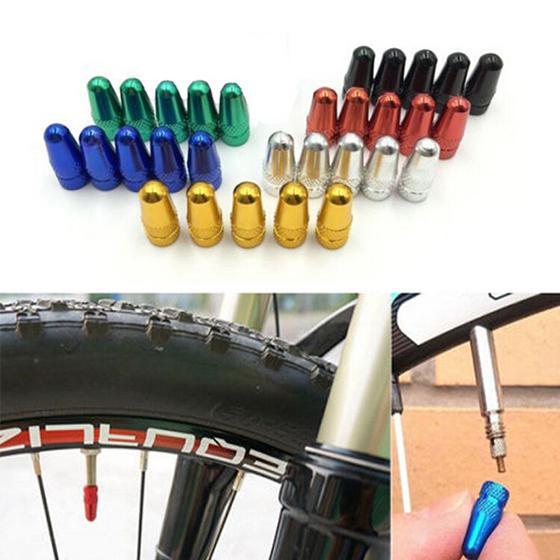 5x Bike Bicycle Fixie MTB*Presta Wheel Rim Tyre Stem Air Valve Cap Dust Cover LY