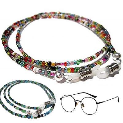 Handmade Fashion Imitation Pearl Beaded Lunettes Lunettes de soleil Sangle Corde cadeaux