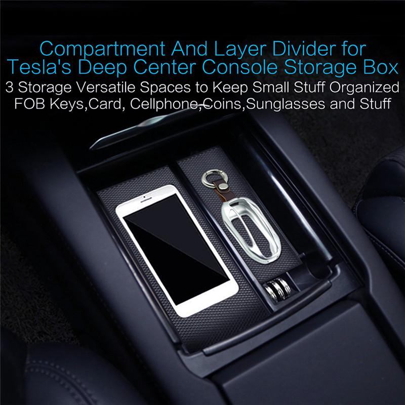 HIGH Flying Dashboard Center Storage Glove Box Organizer Container Tray 1 Piece for VW Volkswagen Atlas 2017 2018