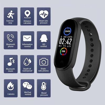 M5 Smart Watch Bluetooth Call Smartwatch Men Women Kids Bracelet Heart Rate Monitor Blood Pressure For IPhone Android