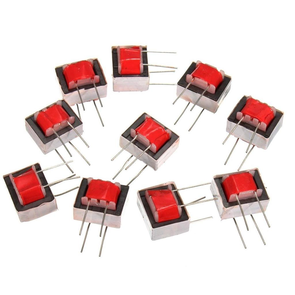 10x Audio Transformers 600600 Ohm Europe 11 Ei14 Isolation Transformer