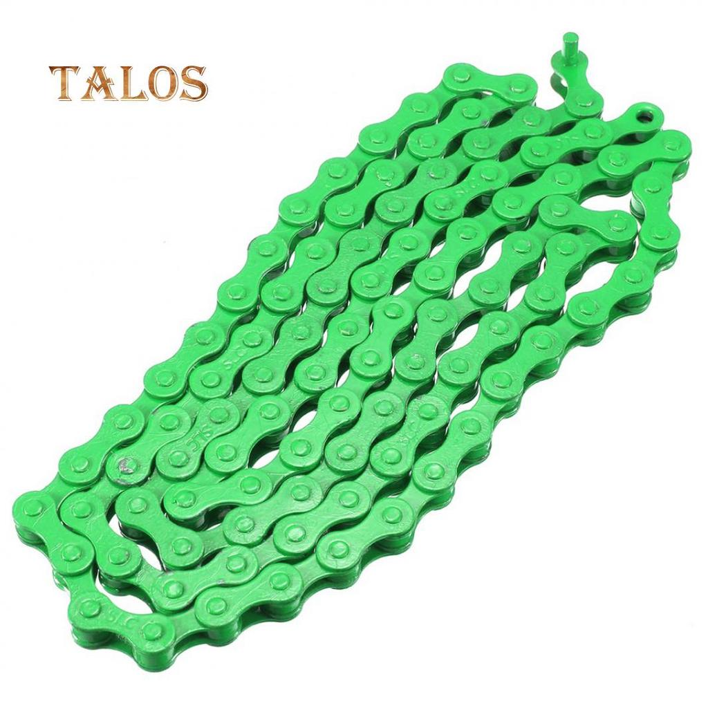 """123cm 1//2*1//8/"""" 96 Links Colorful Bicycle Chain Single Speed Bike Small Steel"""