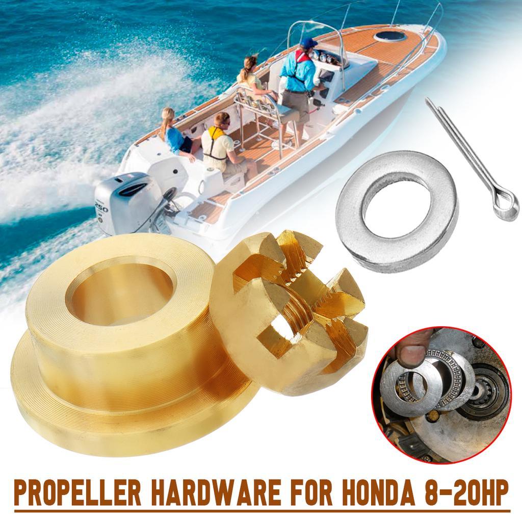 Propeller Hardware Kits Thrust washer Spacer Nut for HONDA 8-20HP
