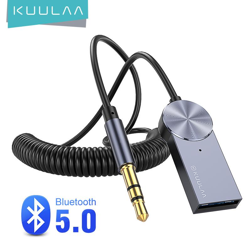Kuulaa Aux Bluetooth Adapter Dongle Cable For Car 3 5mm Jack Aux Bluetooth 5 0 4 2 4 0 Receiver Speaker Audio Music Transmitter Buy From 8 On Joom E Commerce Platform