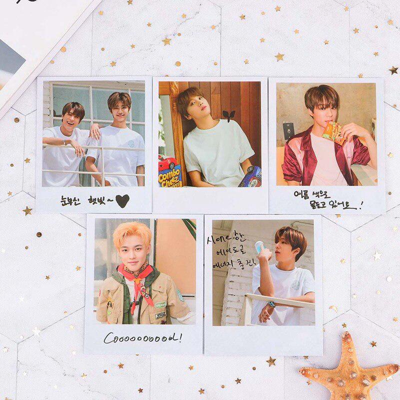 10 шт. / Компл. KPOP NCT Dream фото карты плакат ломо карты самодельные бумажные фотокарты фанаты подарочная коллекция – купить по низким ценам в интернет-магазине Joom