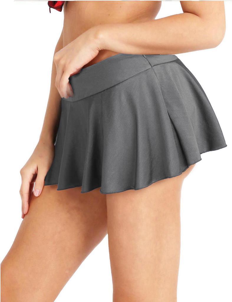 Womens Running Skorts Casual Gym Tennis Skort with Shorts Inner UDIY Sports Skirt