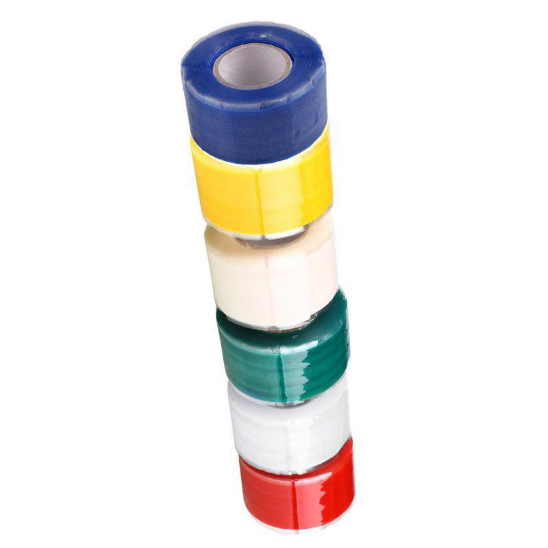 3 m Self-Welding Silicone Tape Insulation Tape red Self-Adhesive Sealing Tape 3m x 25mm Red Silicone Repair Self Fusing Tape