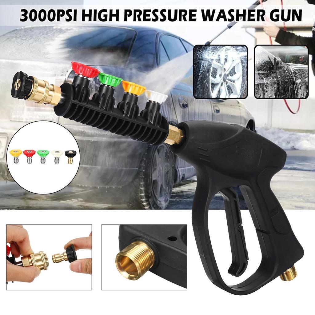 35cm High Pressure Power Car Water Washer Wand Nozzle Spray Gun /& Foam Bottle UK