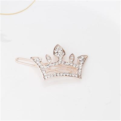 M MISM Crown Rhinestone Hair Clips Jewelry Women Girls Exquisite Hair  Accessories Crystal Hairpins c58fe6f49a29
