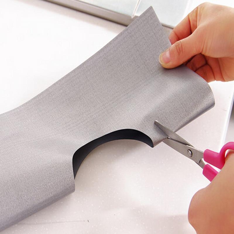 Aluminum Gas Foil Stove Burner 4X Protector Cover Liner Clean Mat Pad Reusable