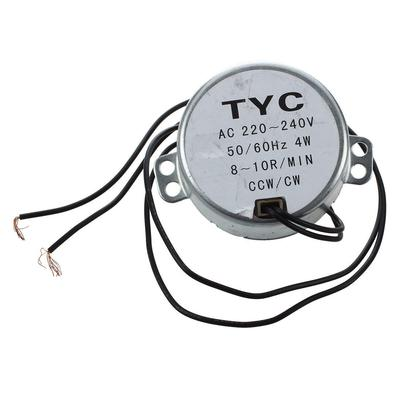 60hz Frequency 8 10rpm Synchronous Motor Ac 220