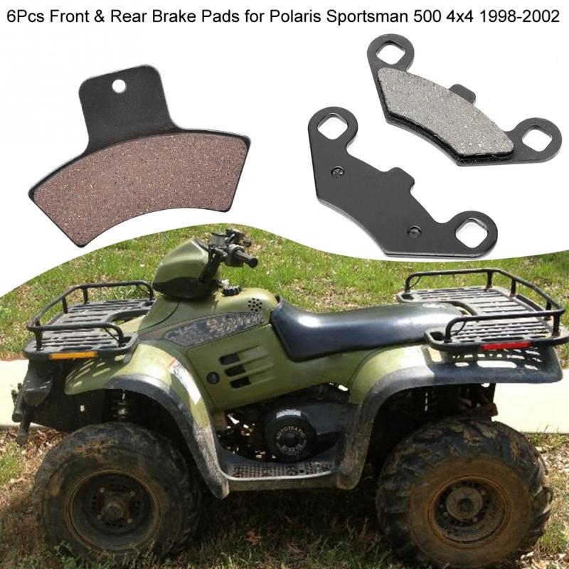 2010-2013 Front /& Rear Brake Pads For Polaris Sportsman 500 HO
