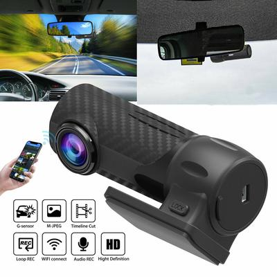 HD 1080P Hidden Car WIFI DVR Vehicle Camera Video Recorder Dash Cam Wde Angle