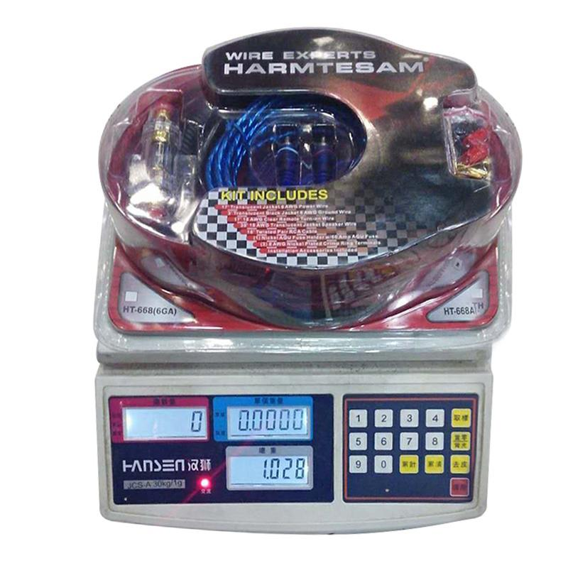 Auto Audio-Installation Kabel 4 Manometer Amp Kit Subwoofer ...