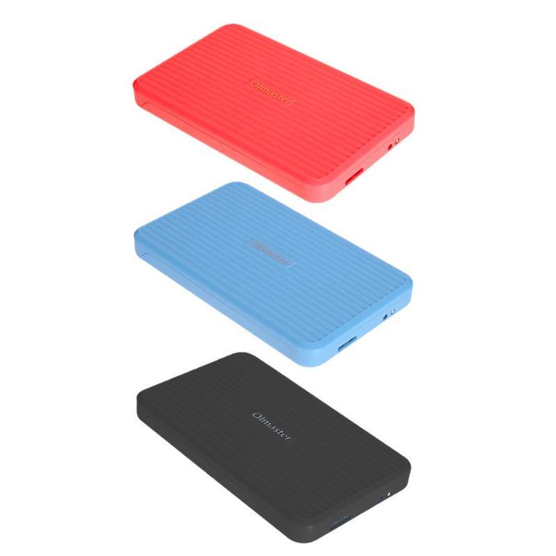 2.5inch USB3.0 to SATA 7.0-12.5mm External HDD Hard Drive Enclosure Case#1