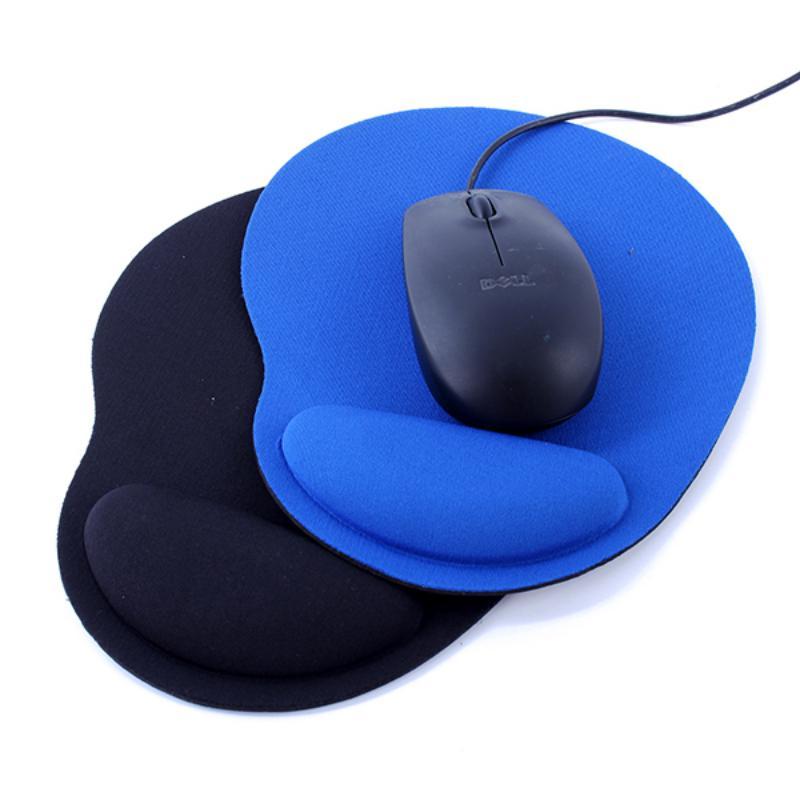 Хорошее качество 2PCS Новая мышь Pad Коврик Для мышей Pad Запястье Комфорт для оптических / Trackball мышь 2 цвета фото