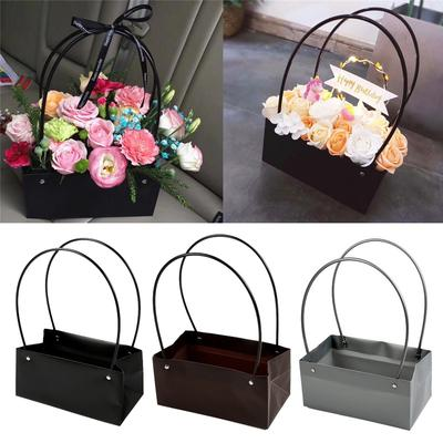 1Pc Gifts Flower Baskets Cones Bouquet Paper Boxes Sweet Boxes Many Colours US