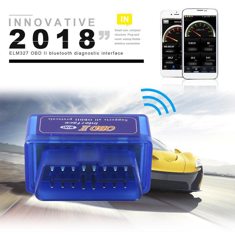 ELM327 Mini OBD2 II Bluetooth Auto Car OBD2 Diagnostic Interface Scanner Tool