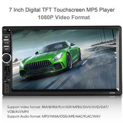7 inch TFT Full Touch Screen Car MP5 Player Audio Automobile Bluetooth