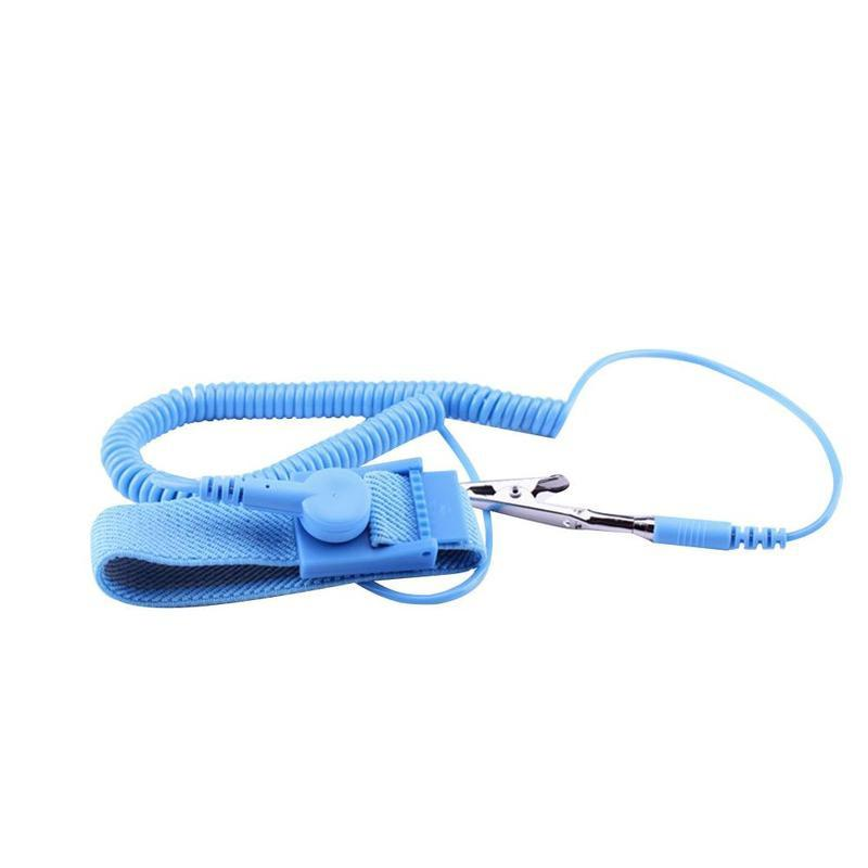 10PCS Brand Anti Static ESD Wrist Strap Discharge Band Grounding Prevent Static