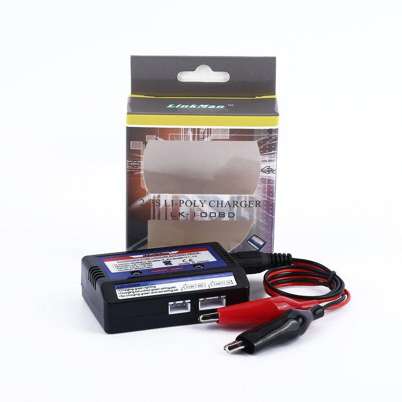 Battery Balance Charger 7.4-11.V 2-3S 2S 3S Cells Li-PO Battery RC Car BSG