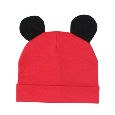 f7b3d101d5d Mickey baby hat cute cotton mouse ears baby boy girl autumn and winter warm  breathable hat