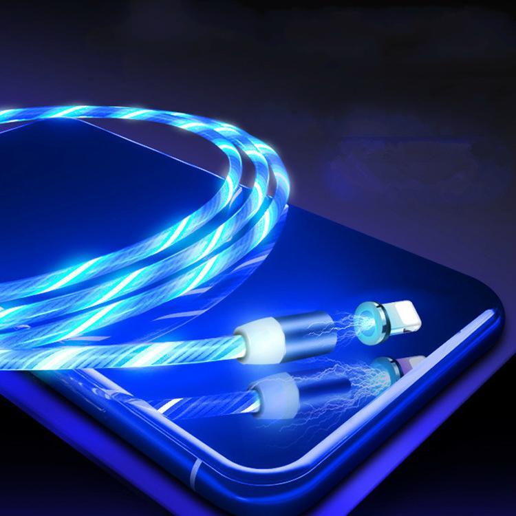 Мобильный телефон Зарядка линия светодиодные Light Charging Line Мобильный телефон Аксессуары