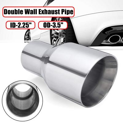 """6/"""" x 2/"""" INCH EXHAUST FLEXI PIPE STAINLESS STEEL FLEXIPIPE 150 x 50mm"""