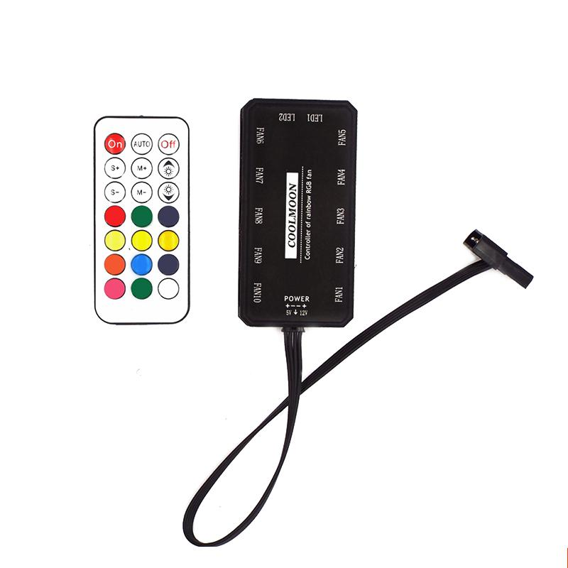MagiDeal 24 Llave LED Con Control Remoto con Controlador RF Para Luz de Tira RGB LED DC 12V