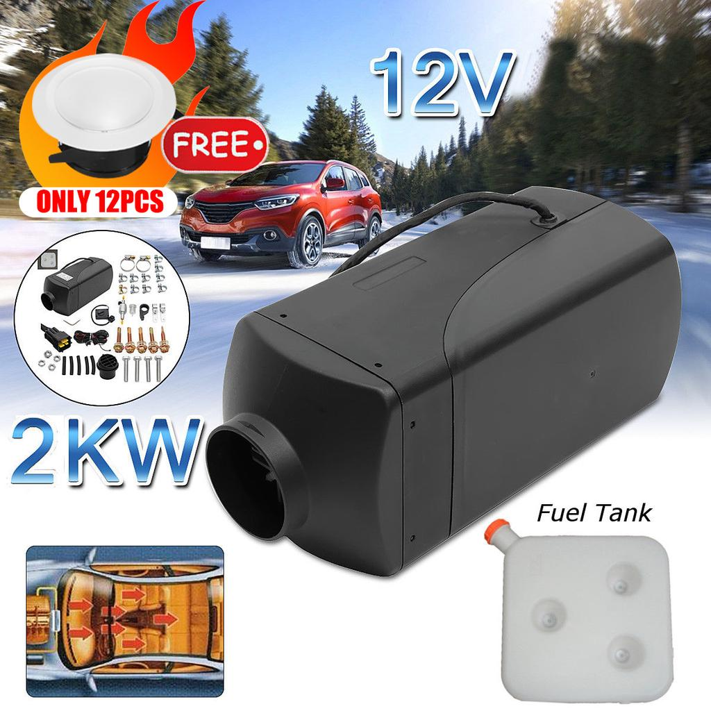 8000W 12V Automatic Control Air Diesel Fuel Heater for Car Truck Boat Bus Window Frost Heating Diesel Vehicles Heater