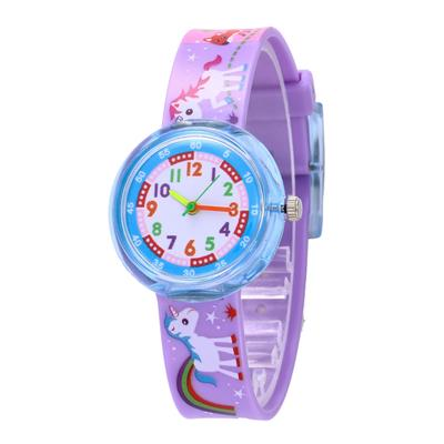 Unicorn Girl's Boy's Children Watch SportS Jelly Watch Women HOT Wrist Watch