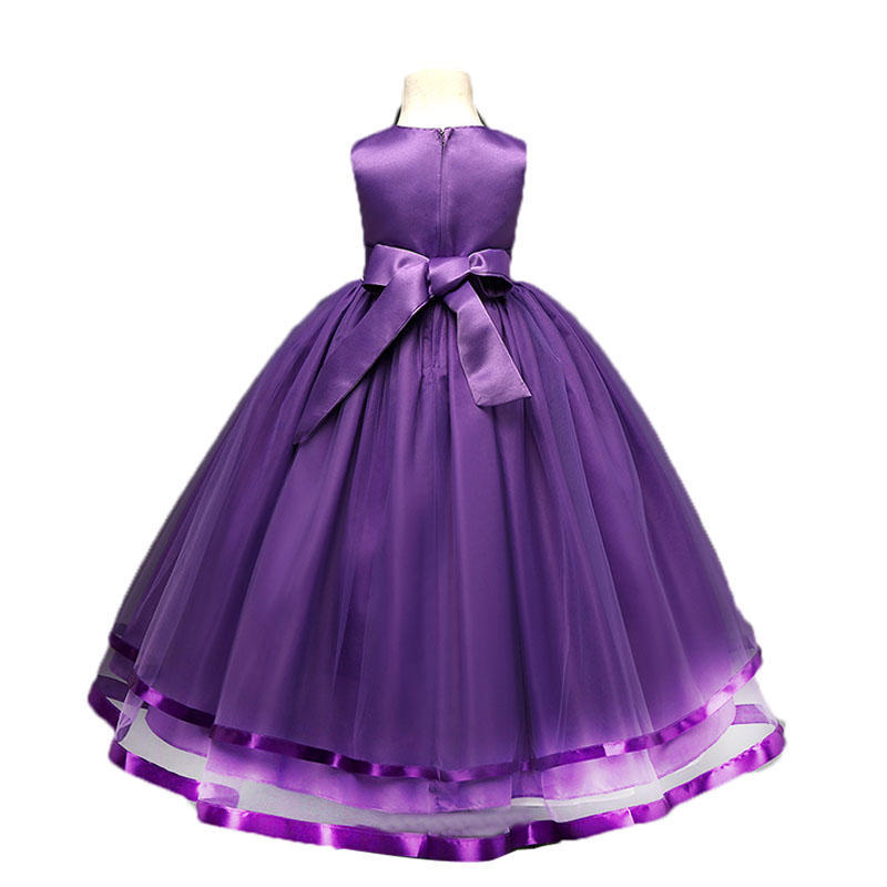 Vestido de fiesta elegante chicas chica vestido para bodas tul Tutu ...