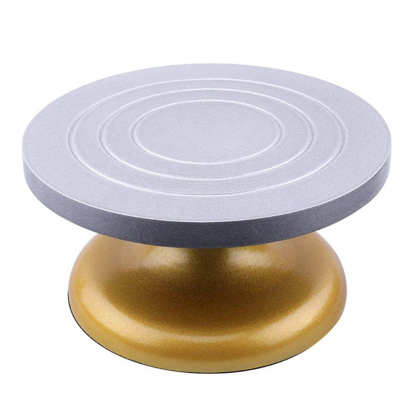 Soft Clay Turntable 11.5cm DIY Small Double Side Plastic Ceramic Sculpting Wheel Art Class Rotation Table Clay Ceramic Pottery Maker Tool