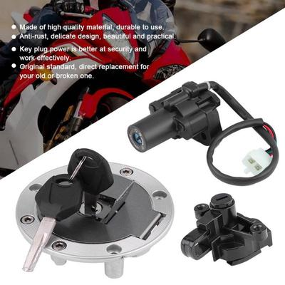 Motorcycle Ignition Switch Fuel Gas Cap Lock For Yamaha YZF1000 97-98  YZF600 95-02
