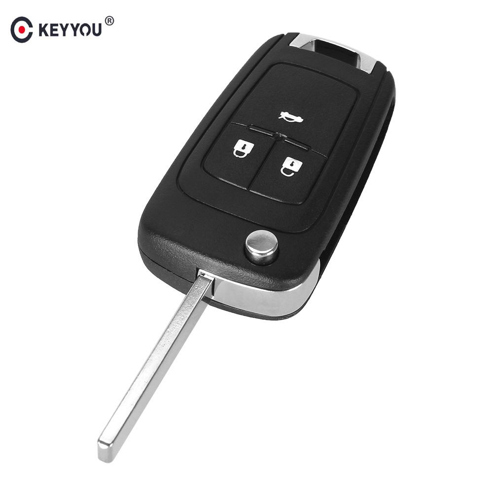 10pcs Flip Remote Key Shell Case Fit For Chevrolet Cruze Epica Lova Camaro Fob 3 Buttons Hu100 Blade Buy At A Low Prices On Joom E Commerce Platform