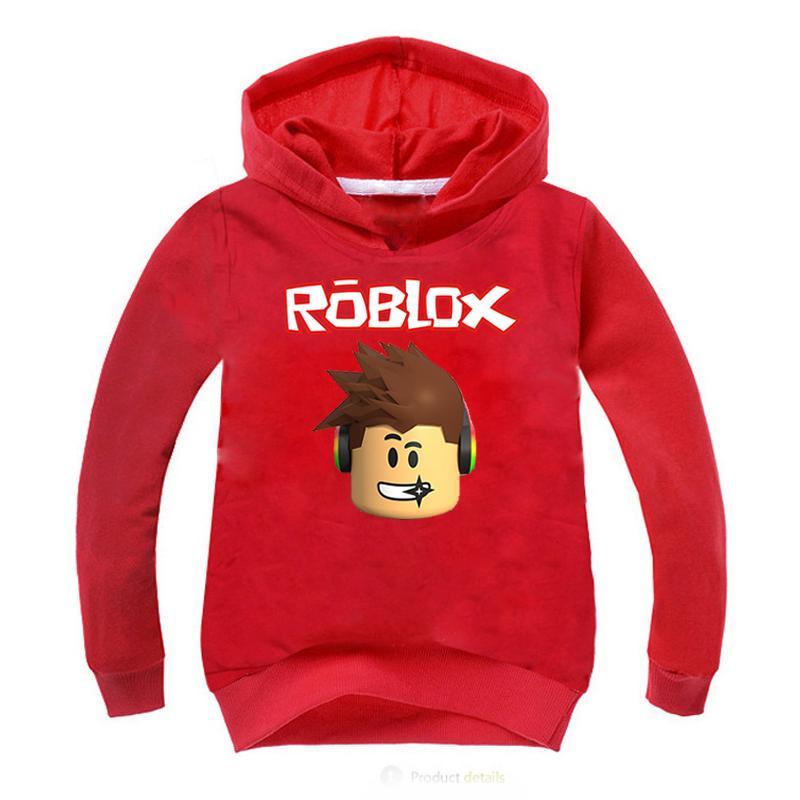 Roblox Hoodies Children Boys Girls Long Sleeve Sweatshirt Kids