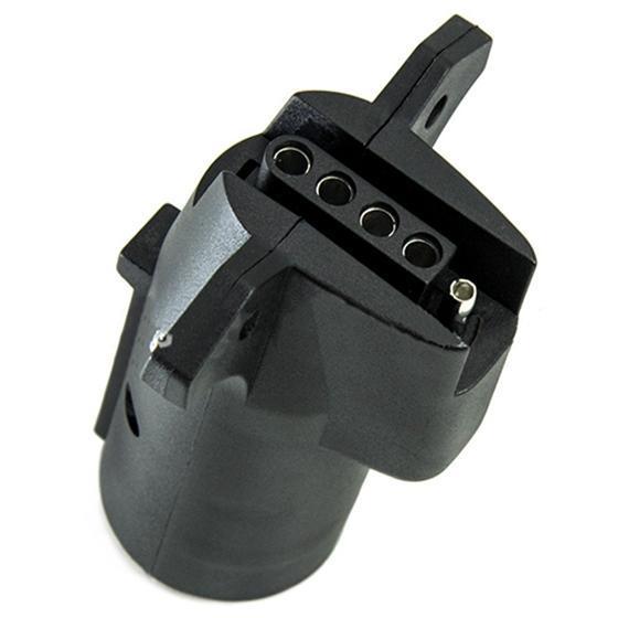 TIROL US style 7-Loch Anhänger Stecker Anhänger Adapter 12V Adapter ...