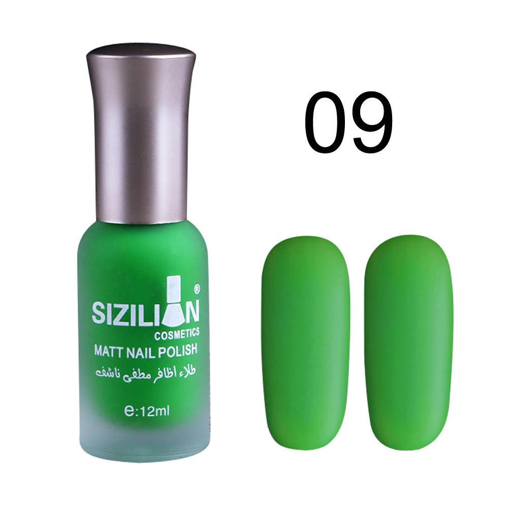 Belleza 12ml mate mate esmalte de uñas secado rápido duradero uñas ...