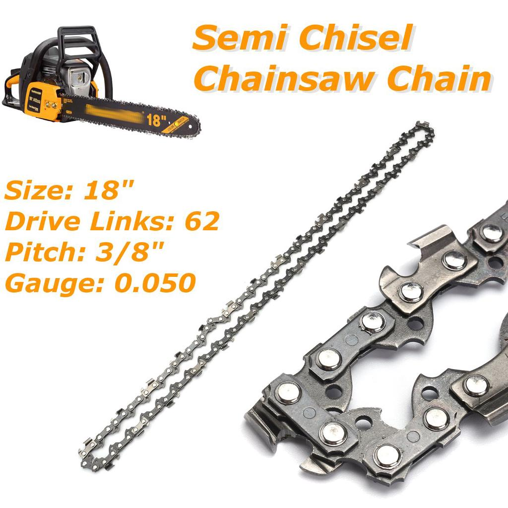 Chainsaw Saw Chain Pitch  3//8/'/'LP .050 Gauge 52DL Drive Links High Quality 1PC
